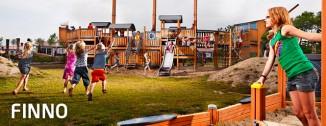 FINNO - echipamente de joaca clasice din lemn - FINNO