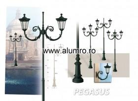 Stalpi de iluminat din aluminiu turnat sau extrudat - PEGASUS - Stalpi de iluminat