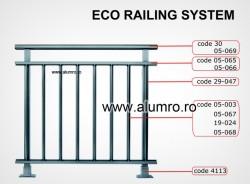 ECO - Balustrada clasica economica - Balustrade clasice