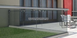Balustrada moderna Crystal Line Tip B - Crystal Line