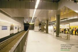 Panouri din tabla de otel emailat vitrifiat - Lucrare realizata - Lehrter_Bahnhof - Panouri din tabla