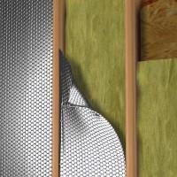 Folie termoizolanta utilizare - Izolare pereti pe structura lemn - Foli termoizolante - Reflectix - Aplicatii