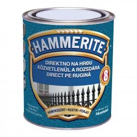 Vopsea pentru metal Hammerite cu efect de fier forjat - 0,75l 3D - Vopsea pentru metal Hammerite