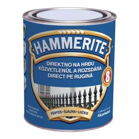 Vopsea pentru metal Hammerite lucios - 0,75l 3D - Vopsea pentru metal Hammerite