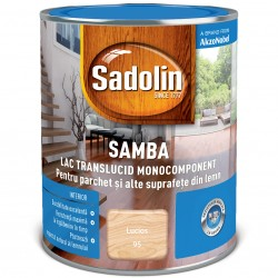 Lac monocomponent pentru lemn - Sadolin Samba - Lacuri pentru lemn - SADOLIN Samba