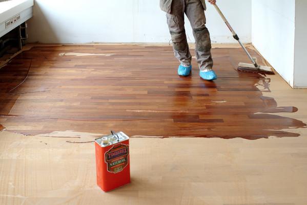 Foto: timberex (wood finishing oils) - Finisarea cu ceara a parchetului (foto: timberex.com)