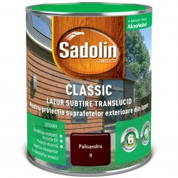 Lazur subtire pe baza de solvent - Sadolin Classic - Lazur subtire pe baza de solvent - Sadolin Classic