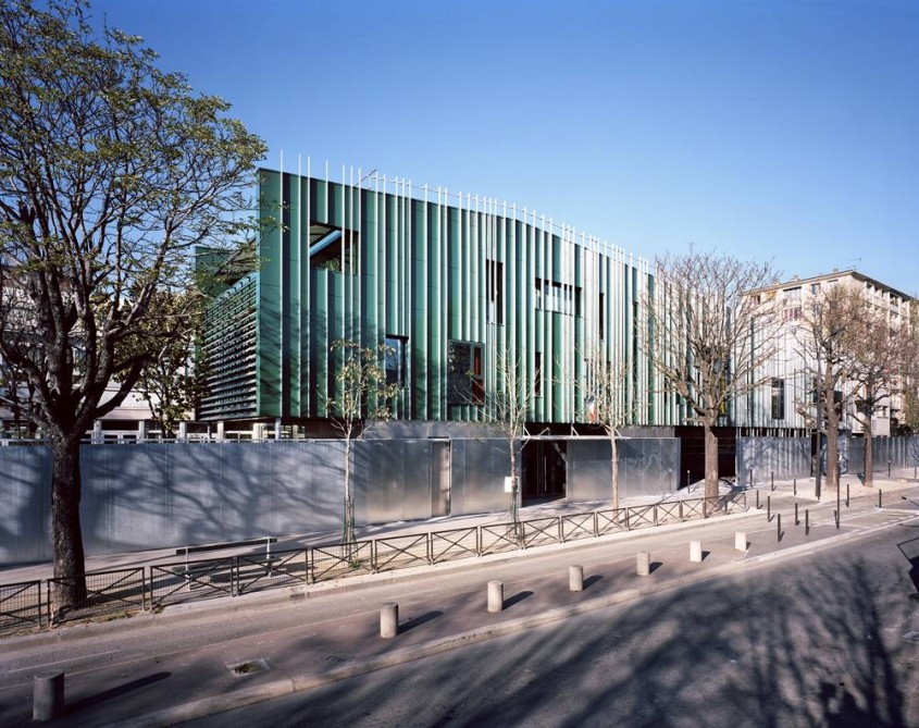 Scoala proiectata de Archi5 in Paris - Scoala proiectata de Archi5 in Paris