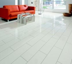 Parchet laminat HDM Superglanz V5 white - Parchet laminat - Superglanz V5
