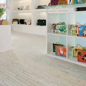 Pardoseli linoleum windmoller Designline Connect Bacana - White Fashion Wood - Linoleum - Designline Connect Bacana