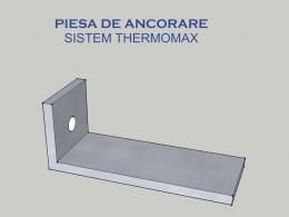Piesa de ancorare - Sistem THERMOMAX - Componente sistem THERMOMAX