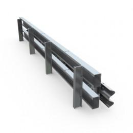 Parapet de tip foarte greu - orta de izbire = 19 tf - Tipuri de parapete deformabile - MBS