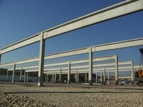 Complex comercial Deva (Real, Practiker, Metro) - Elemente prefabricate din beton - MACON