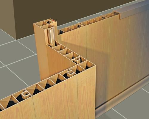 teraplast_63726_profile_pentru_pereti_despartitori - Functionalitati multiple pentru lambriurile din PVC (foto Teraplast)