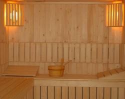 Sauna uscata lambrisata - Saune uscate - HOBBIT