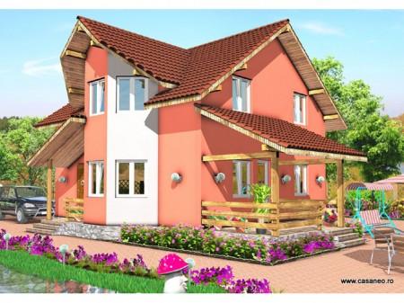 Casa lemn Malina  - 1.Casa lemn Malina