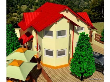 Casa lemn Prima Casa - 1.Casa lemn Prima Casa