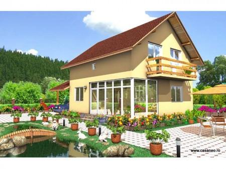 Casa lemn Teodora - 1.Casa lemn Teodora