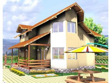 Casa lemn Vicentiu  - 1.Casa lemn Vicentiu