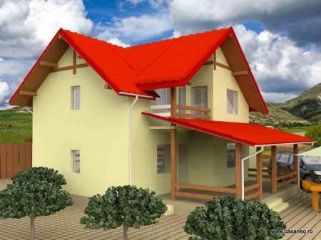 Casa lemn Ileana - 1.Casa lemn Ileana