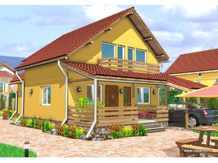 Casa lemn Raluca - 1.Casa lemn Raluca