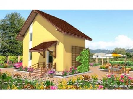 Casa de lemn Sociala - 1.Casa de lemn Sociala