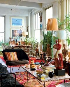 In casa designerului Ford Wheeler - Stil eclectic: orice influenta e acceptata (foto din casa designerului Ford Wheeler)