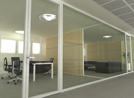 Compartimentari - Esedra3 - Compartimetari de birouri - TECHNO GLASS WALL