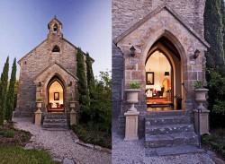 Biserica transformata in locuinta moderna - Biserica transformata in locuinta moderna