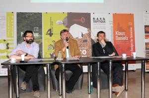 Conferinta de presa a Anualei de Arhitectura Bucuresti a fost prezidata de prof. dr. arh. Mircea Ochinciuc, presedintele OAR Bucuresti - Conferinta de presa a Anualei de Arhitectura Bucuresti a fost prezidata de prof. dr. arh. Mircea Ochinciuc