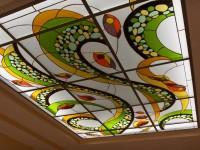 Vitraliu pentru plafon - Barbu - Vitralii pentru plafoane - Color Art