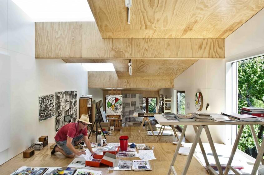 Studioul unui artist castiga premiul pentru Arhitectura1 - Un studio pentru un artist castiga Premiul National