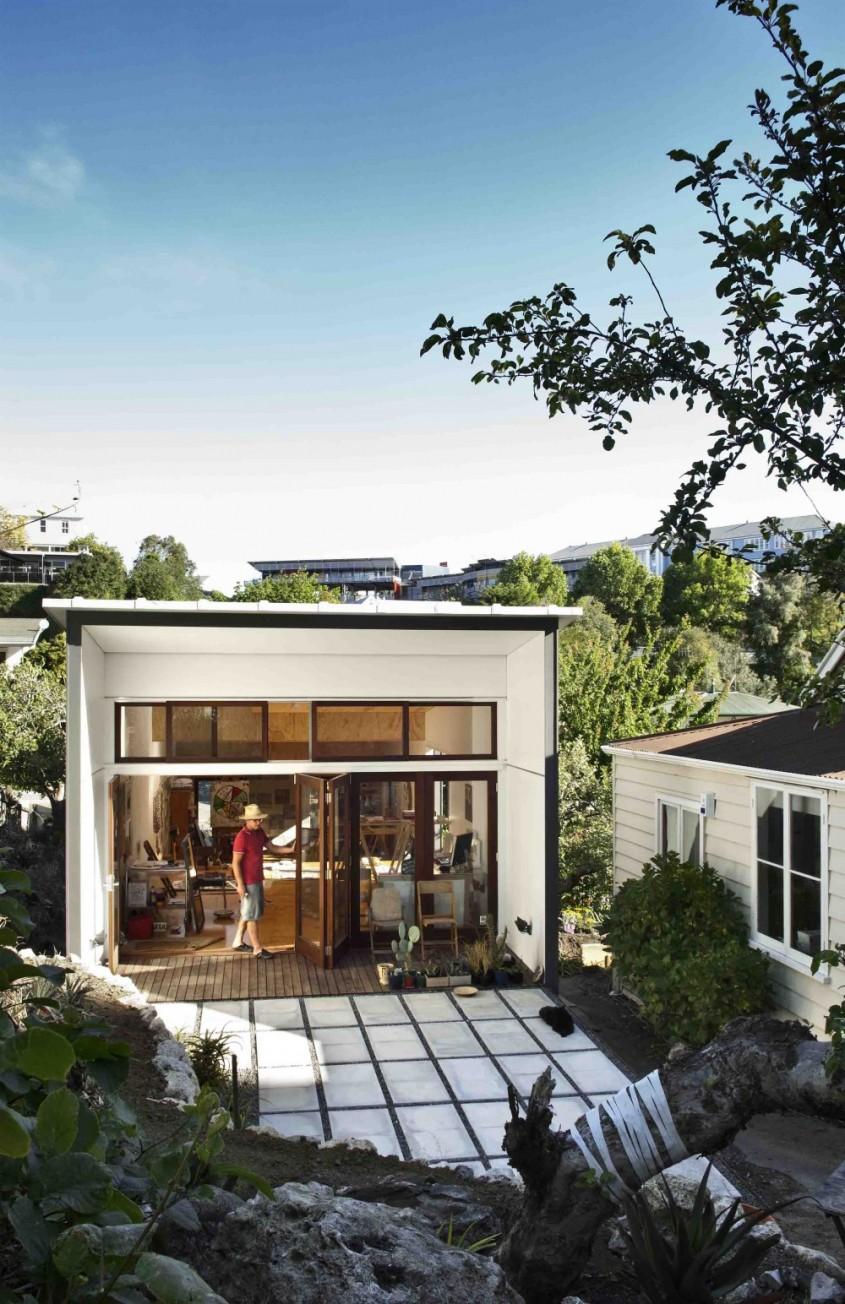 Studioul unui artist castiga premiul pentru Arhitectura3 - Un studio pentru un artist castiga Premiul National de Arhitectura din Noua Zeelanda