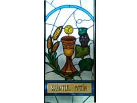 Vitraliu religios - Sf.Potir 01 - Vitralii religioase - Color Art