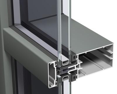 Sistem swiss CW 50 - Pereti cortina