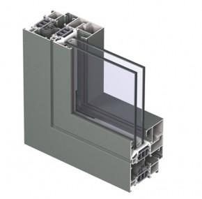 Profile din aluminiu pentru usi CS 77 - Profile din aluminiu pentru usi CS 77