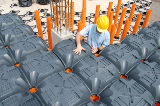 Sistem de cofraje pierdute pentru pardoseli ventilate NEW ELEVETER - Cofraje pierdute - GEOPLAST