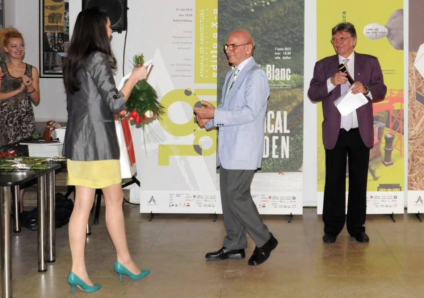 Premiul pentru Opera Omnia Anuala de Arhitectura Bucuresti 2012 - Premiere in cadrul Anualei de Arhitectura
