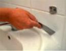 Etansanti siliconici - aplicare 1 - Etansanti siliconici - Ceresit - Etape de aplicare