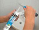 Etansanti siliconici - aplicare 3 - Etansanti siliconici - Ceresit - Etape de aplicare