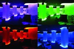Iluminare cu system RGB Cold Cathode - Solutii de iluminat interior si exterior cu tuburi Cold Catode