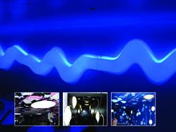 Elemente termoformate din PMMA  illuminate cu Cold Cathode - Solutii de iluminat interior si exterior cu tuburi Cold Catode
