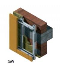 Sistem de ancoraj vertical SAV - Sistem de prindere Ceram - Monsena