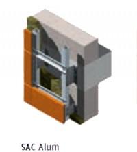 Sistem de ancoraj combinat SAC Aluminiu - Sistem de prindere Bersal - Monsena