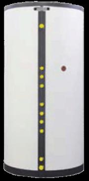 Rezervor de acumulare (sau Rezervor combinat cu buffer si acumulare) - KSE/KSV/KSW/KSP - Boilere