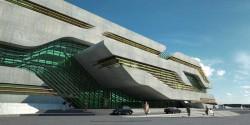 Cladirea Pierrevives 2 - Pierrevives, noua cladire marca Zaha Hadid in Montpellier, Franta