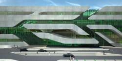 Cladirea Pierrevives 5 - Pierrevives, noua cladire marca Zaha Hadid in Montpellier, Franta
