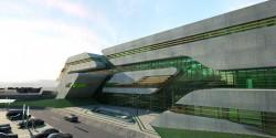 Cladirea Pierrevives 6 - Pierrevives, noua cladire marca Zaha Hadid in Montpellier, Franta