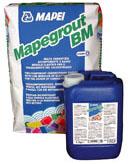 Mapegrout BM - Mortare cu consistenta vartoasa, aplicare manuala sau mecanizata, pentru reparatii structurale si nestructurale