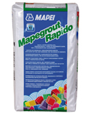 Mapegrout Rapido - Mortare cu consistenta vartoasa, aplicare manuala sau mecanizata, pentru reparatii structurale si nestructurale
